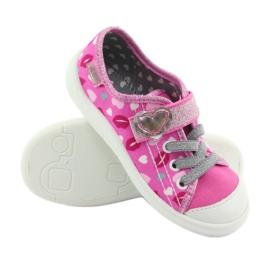 Încălțăminte pentru copii Befado 251X123 alb roz gri 3