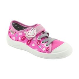Încălțăminte pentru copii Befado 251X123 alb roz gri 1