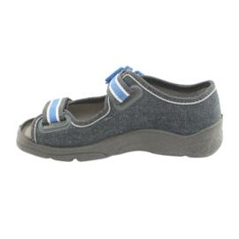 Încălțăminte pentru copii Befado 969X127 albastru gri 2