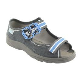 Încălțăminte pentru copii Befado 969X127 albastru gri 1