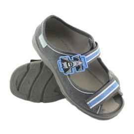 Încălțăminte pentru copii Befado 969X127 albastru gri 3