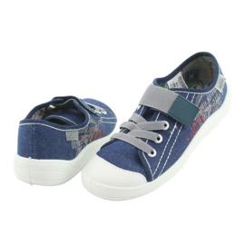 Încălțăminte pentru copii Befado 251Y116 alb albastru marin 3