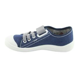 Încălțăminte pentru copii Befado 251Y116 alb albastru marin 2