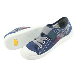 Încălțăminte pentru copii Befado 251Y116 alb albastru marin 4