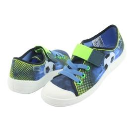 Încălțăminte pentru copii Befado 251Y121 albastru marin albastru verde 3