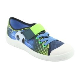 Încălțăminte pentru copii Befado 251Y121 albastru marin albastru verde 1