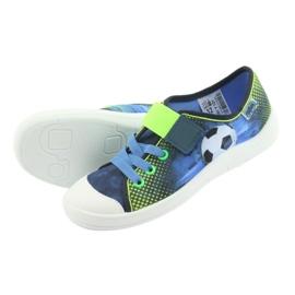 Încălțăminte pentru copii Befado 251Y121 albastru marin albastru verde 4