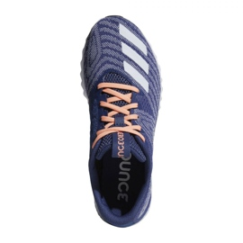 Pantofi de alergat adidas Aerobounce Pr W CG4647 bleumarin 1