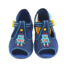 Papuci băieți Befado 217P103 bleumarin albastru marin 3