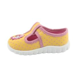 Încălțăminte pentru copii Befado 535P001 roz galben 2
