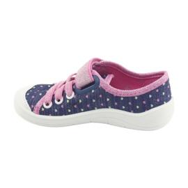 Încălțăminte pentru copii Befado 251X135 albastru roz multicolor 3