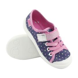Încălțăminte pentru copii Befado 251X135 albastru marin roz gri 3