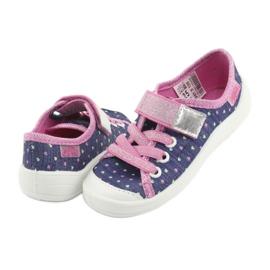 Încălțăminte pentru copii Befado 251X135 albastru marin roz gri 5