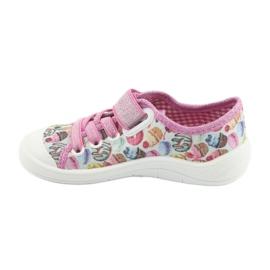 Încălțăminte pentru copii Befado 251X134 roz multicolor 3