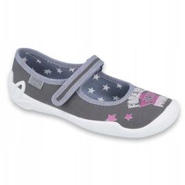 Încălțăminte pentru copii Befado 114Y370 roz gri 1