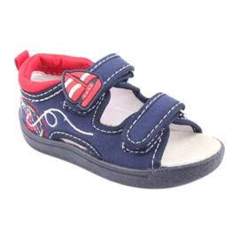 Sandale pentru copii American Club bleumarin TEN36 roșu albastru marin 1
