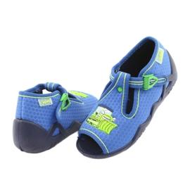 Încălțăminte pentru copii Befado 217P094 albastru verde 4
