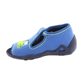 Încălțăminte pentru copii Befado 217P094 albastru verde 2