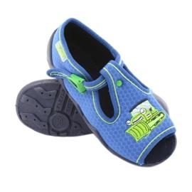 Încălțăminte pentru copii Befado 217P094 albastru verde 3