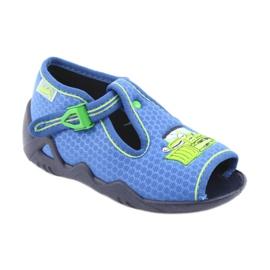 Încălțăminte pentru copii Befado 217P094 albastru verde 1