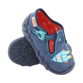 Încălțăminte pentru copii Befado 110P356 albastru marin albastru 3