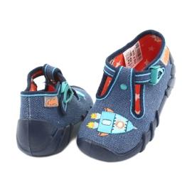 Încălțăminte pentru copii Befado 110P356 albastru marin albastru 4