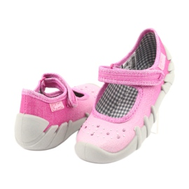 Încălțăminte pentru copii Befado 109P171 roz gri 4