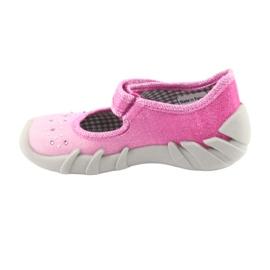 Încălțăminte pentru copii Befado 109P171 roz gri 2