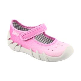 Încălțăminte pentru copii Befado 109P171 roz gri 1