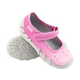 Încălțăminte pentru copii Befado 109P171 roz gri 3
