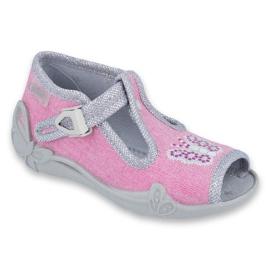 Încălțăminte pentru copii Befado 213P111 roz gri 1