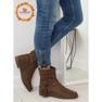 Pantofi femei bruni 4169 Khaki imagine 1
