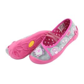 Încălțăminte pentru copii Befado 116X248 roz gri 6