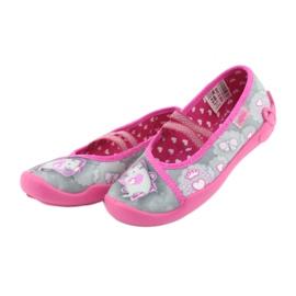 Încălțăminte pentru copii Befado 116X248 roz gri 4