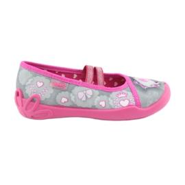 Încălțăminte pentru copii Befado 116X248 roz gri 1