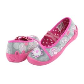 Încălțăminte pentru copii Befado 116X248 roz gri 5