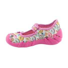 Încălțăminte pentru copii Befado 109P191 roz multicolor 3
