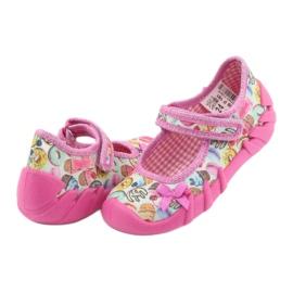 Încălțăminte pentru copii Befado 109P191 roz multicolor 5