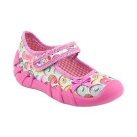 Încălțăminte pentru copii Befado 109P191 roz multicolor 2