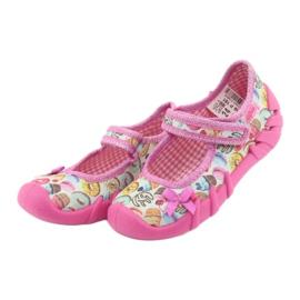 Încălțăminte pentru copii Befado 109P191 roz multicolor 4