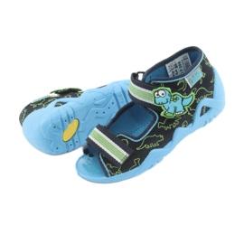 Încălțăminte pentru copii Befado verde 250P088 albastru marin albastru 5