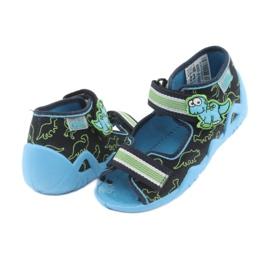 Încălțăminte pentru copii Befado verde 250P088 albastru marin albastru 4