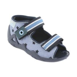 Pantofi pentru copii Befado albastru 250P079 albastru marin 1