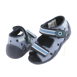 Pantofi pentru copii Befado albastru 250P079 albastru marin 3