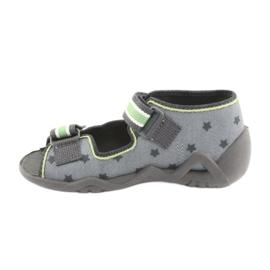 Pantofi pentru copii Befado galbeni 250P086 gri verde 2