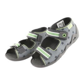 Pantofi pentru copii Befado galbeni 250P086 gri verde 3