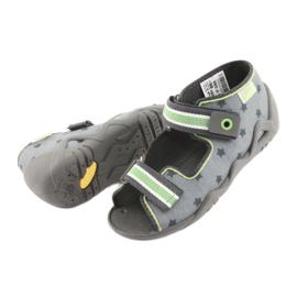 Pantofi pentru copii Befado galbeni 250P086 gri verde 5