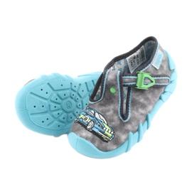 Încălțăminte pentru copii Befado 110P344 albastru gri 5