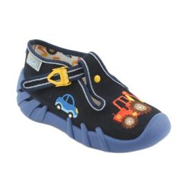 Încălțăminte pentru copii Befado 110P347 albastru marin multicolor 2