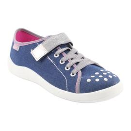 Încălțăminte pentru copii Befado 251Q109 albastru roz gri 1